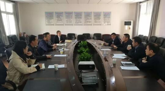 湖北省保安协会领导到襄阳保安公司调研