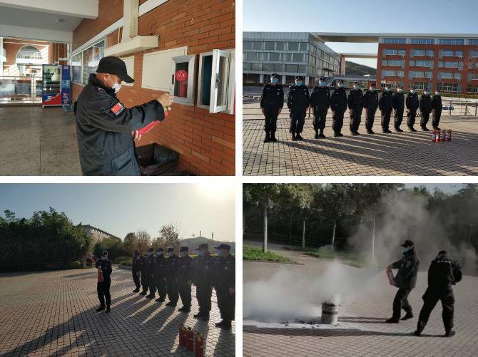 南京保安公司开展校园保安演练助力开学